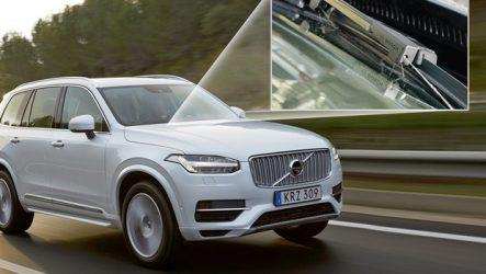 Bosch. Novo limpa-para-brisas no Volvo XC90
