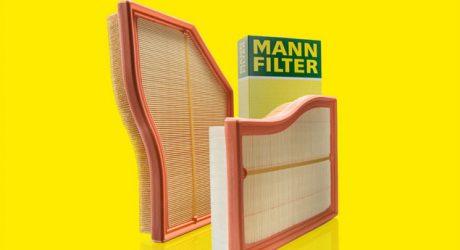 MANN-FILTER apresenta filtros de ar flexíveis