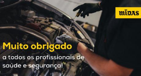 Midas oferece serviços a profissionais no terreno
