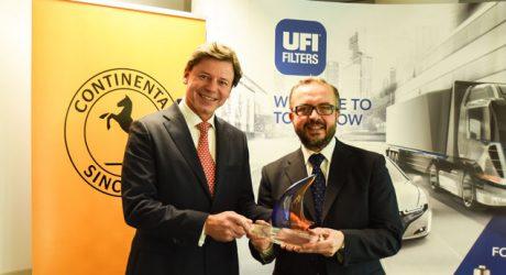 Filtros UFI sob a marca Continental