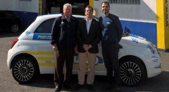 Vulco entrega dois Fiat 500 a oficinas da rede