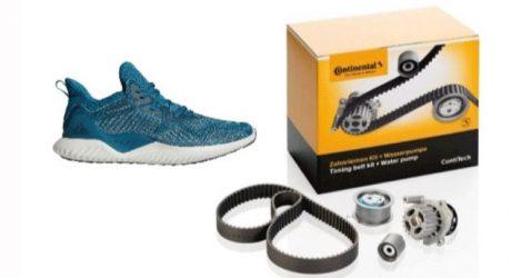 Krautli oferece calçado desportivo em kits Contitech