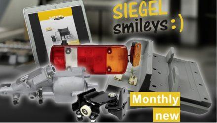 SIEGEL Smileys: novidades a preços económicos