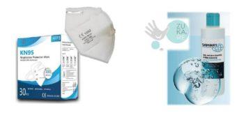 Krautli disponibiliza máscaras e gel desinfetante
