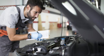 Liberty desinfeta veículos de clientes