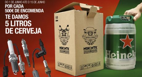 Nova campanha promocional NGK NTK