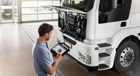 Campanha de diagnóstico para veículos industriais