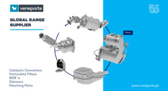 Veneporte fornece gama DPF´s ao Grupo Renault