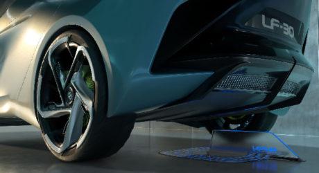 Goodyear revela pneus para Lexus LF-30 elétrico