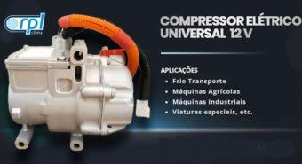 RPL Clima apresenta compressor elétrico 12V