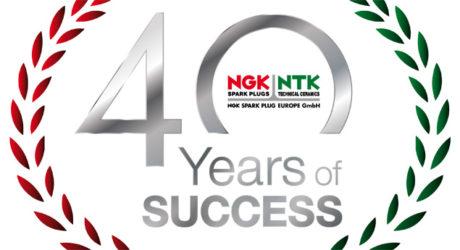 NGK Spark Plug celebra 40 anos na Europa