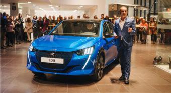 Gamobar apresenta Peugeot e-208 em exclusivo