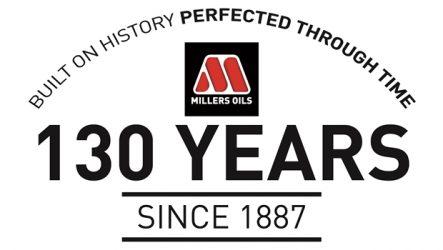 Millers Oils – 130.º aniversário