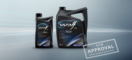Wolf Vitaltech 5W40 aprovado pela BMW