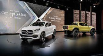 Mercedes-Benz – Classe X marca estreia nas pick-up