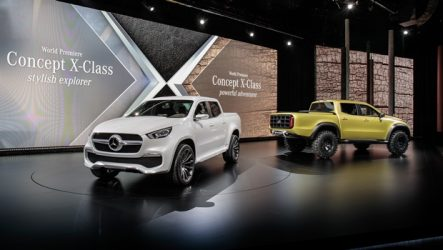 Mercedes-Benz – Classe X marca estreia nas pick-up