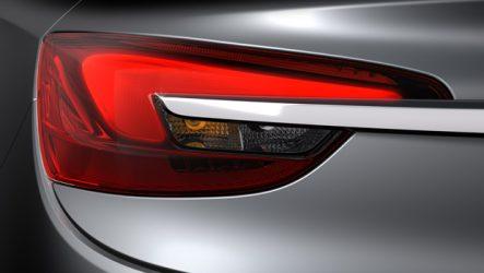 Hella. Fornece farolins traseiros em LED ao novo Opel Cascada