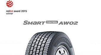 Hankook. Smart Control AW02 recebe Red Dot Award