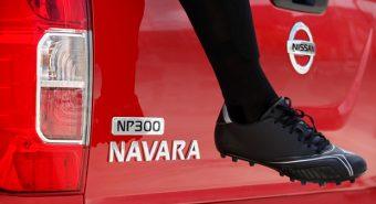 Nissan. Nova NP-300 Navara em Frankfurt