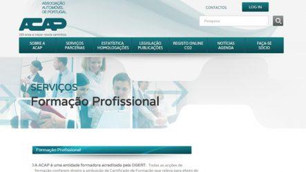 ACAP. Anunciadas ações de formação profissional para Fevereiro