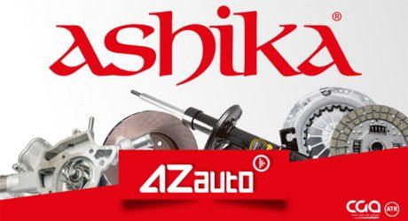 AZ Auto reforça-se com componentes Ashika