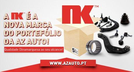Portefólio da AZ Auto reforçado com oferta da NK