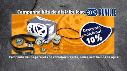 AZ Auto – Campanha de kits de distribuição Ruville