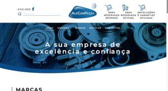 AleCarPeças renovou o seu site corporativo