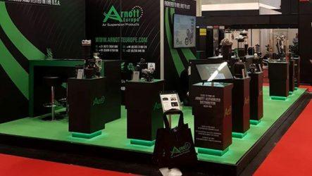 Arnott Europe – Suspensões pneumáticas no Autopromotec