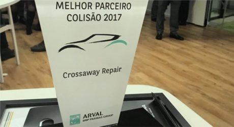 Arval distinguiu melhores oficinas de colisão de 2017