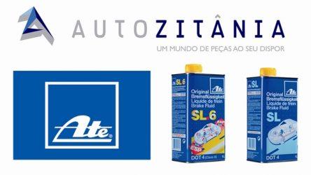 Autozitânia – Oferta reforçada com óleos de travões Ate