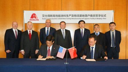 Axalta – Nova unidade de Produção e Logística na China