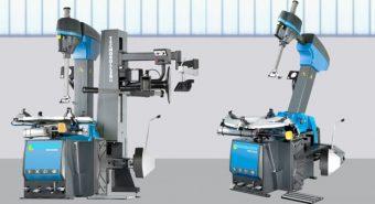 Lusilectra. Nova máquina de montar e desmontar pneus Beissbarth MS 630