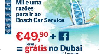 Bosch Car Service. Campanha promocional em curso