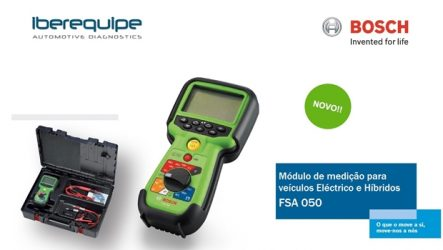 Iberequipe – Módulo de medição Bosch para veículos elétricos e híbridos