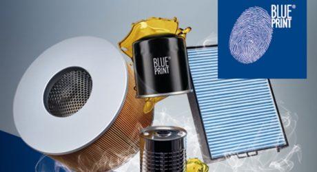 Blue Print apresenta gama de filtros