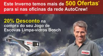 Campanha de inverno da rede de oficinas AutoCrew
