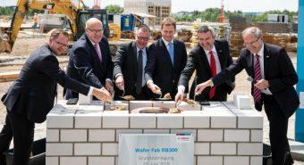 Bosch lança primeira pedra de nova fábrica de semicondutores
