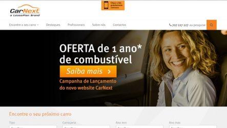 CarNext. Novo website