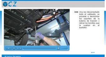 Centro Zaragoza. Curso online sobre veículos elétricos e híbridos