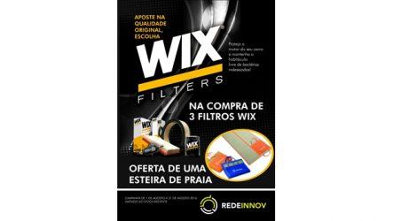 RedeInnov – Campanha para a gama de filtros WIX