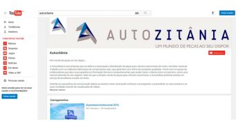 Autozitânia – Canal no YouTube