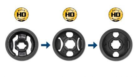 MEYLE-HD. Novos casquilhos para VW, Audi, Seat e Skoda com quatro anos de garantia