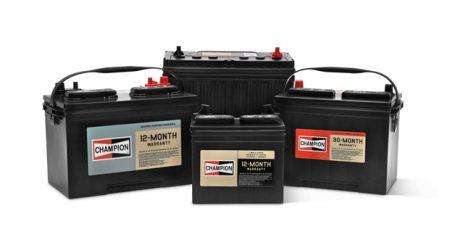 Champion lança nova linha de baterias