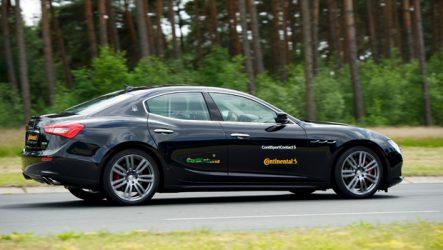 Continental. Maserati aprova pneus para o Ghibli