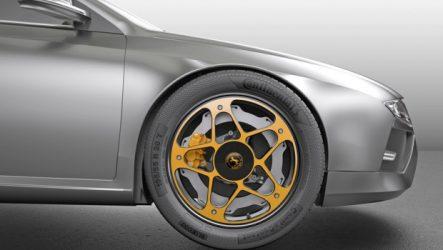 Continental – Novo conceito de roda para veículos elétricos