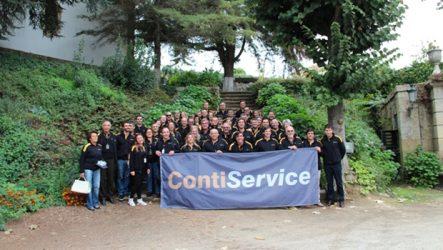 ContiService – Primeira convenção da rede