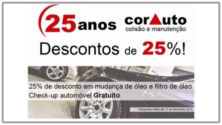 Corauto. Check-up gratuito até ao final do ano
