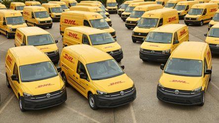 Volkswagen – Cem veículos comerciais fornecidos à DHL