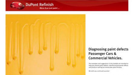 Dupont Refinish. Como evitar os defeitos de pintura mais comuns